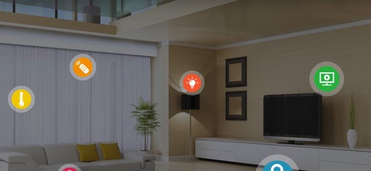 Domotica integrata: regolare la temperatura e rispondere al citofono da un solo touch screen