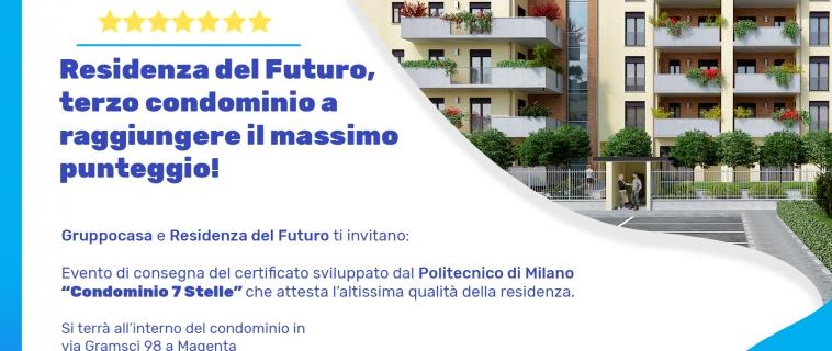 """Residenza del Futuro, un """"condominio stellato"""""""